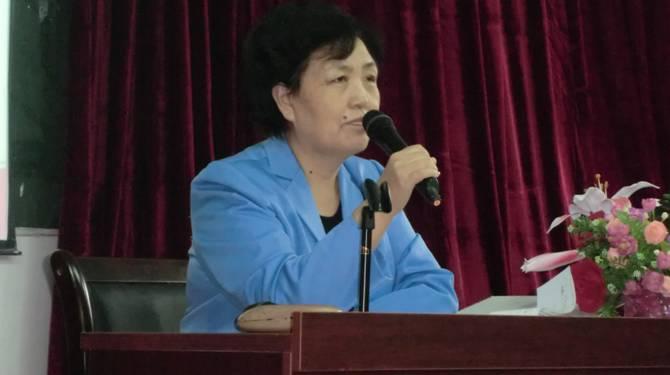 韩书记作了动员讲话