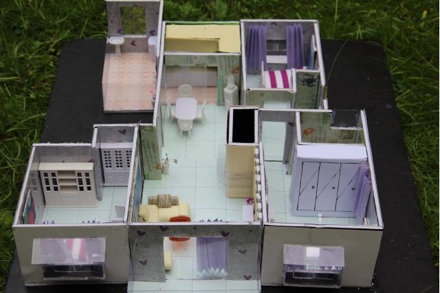 2012级立体构成设计项目三