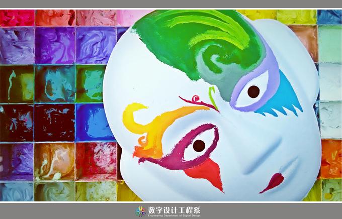 千脸万绘,彩墨渲染——数字系脸谱创意大赛
