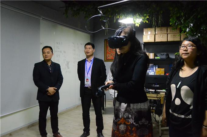 参观VR建模中心