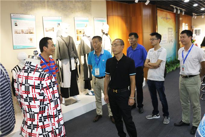 参观服装产业学院