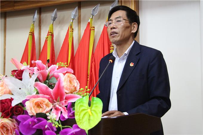 学院董事长助理齐广武致辞