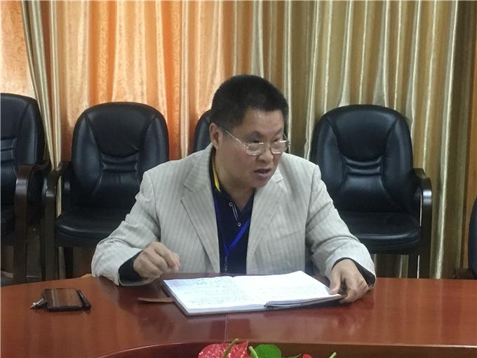 党委副书记罗文坤同志讲话